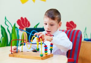 Learning Disability Remediation - child with puzzle