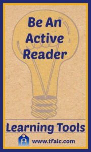 Learning Tools - Active Reader