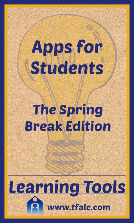 Learning Tools - Apps for Students