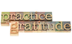 Time for Practicing Gratitude